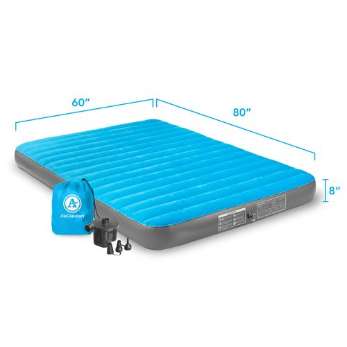 Air Comfort Camp Mate Queen-Size Air Mattress with Battery-Powered Pump - view number 9