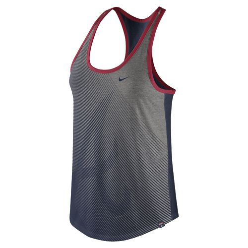Nike Women's Atlanta Braves Triblend Racerback Tank Top
