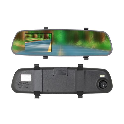 SoundLogic XT iTek HD Rearview Mirror Dash Cam Recorder
