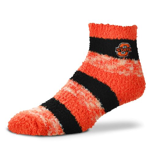 FBF Originals Women's Oklahoma State University Pro Stripe Sleep Soft Socks