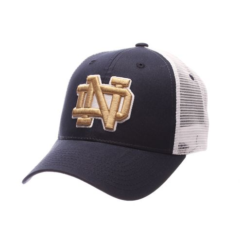 Zephyr Men's University of Notre Dame Big Rig 2T Mesh Back Cap