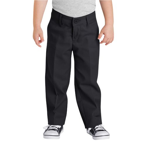Dickies Girls' Flat Front Uniform Pant