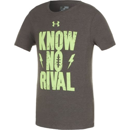 Under Armour Boys 39 Know No Rival T Shirt Academy