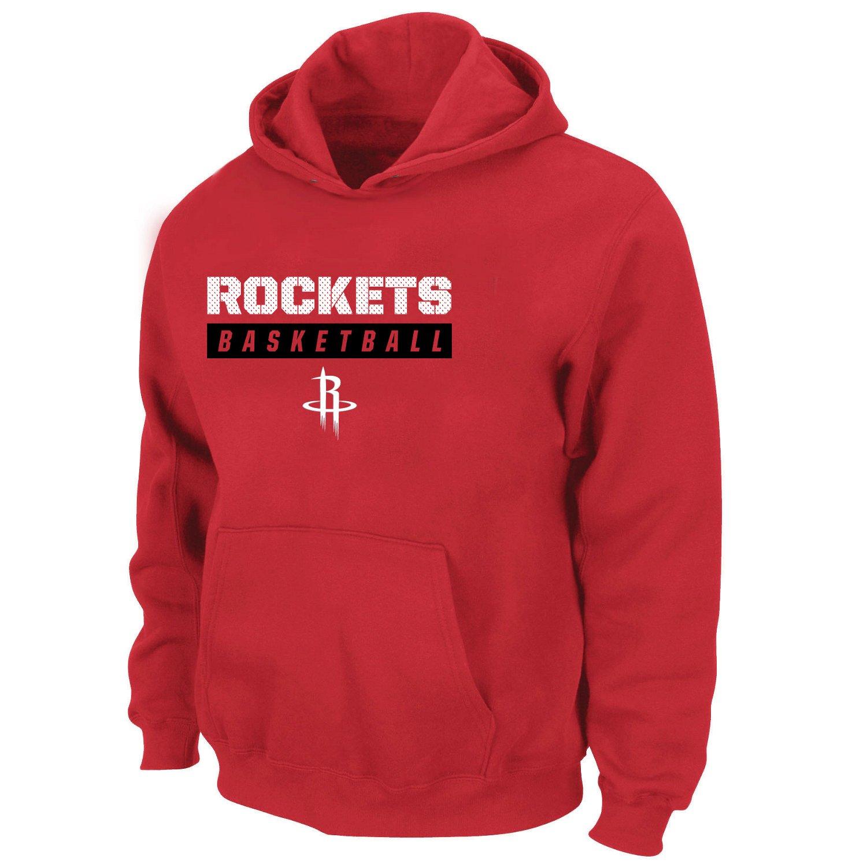 Majestic Boys' Houston Rockets Screen Print Hoodie
