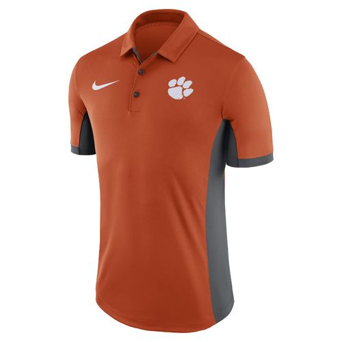 Nike Men's Clemson University Dri-FIT Evergreen Polo Shirt - view number 1