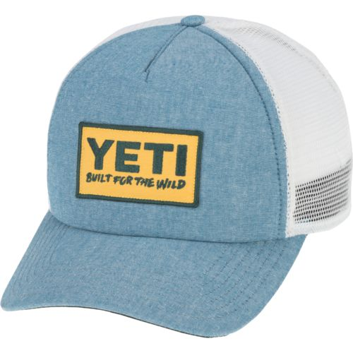 YETI® Men's Deep Fit Built for the Wild Trucker Hat