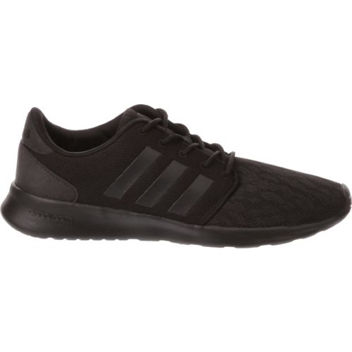 adidas cloudfoam black and white womens