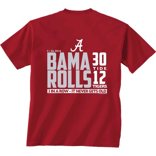 New World Graphics Men's University of Alabama Iron Bowl 2016 Score T-shirt