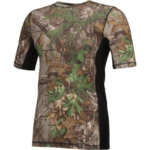 O'Rageous Men's Realtree Short Sleeve Rash Guard