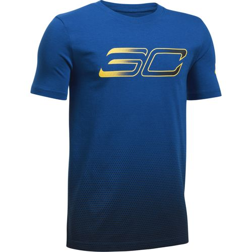 Under Armour Boys 39 Stephen Curry No 30 Fade T Shirt Academy