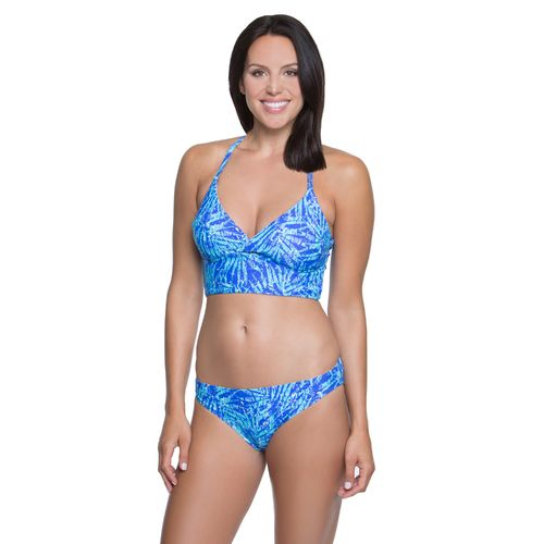 BCG Women's Bali Palm Halter Swim Top