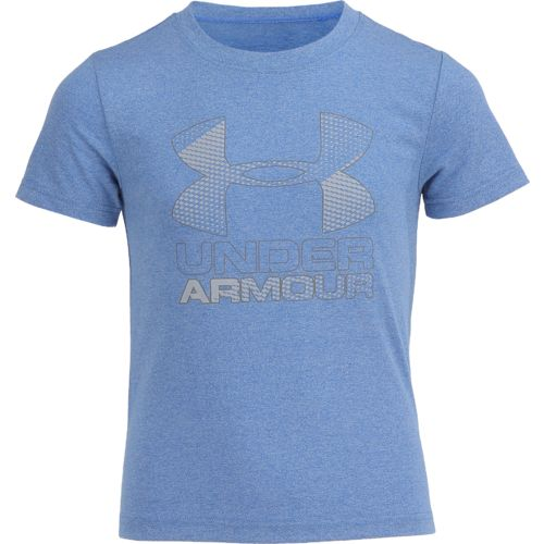 Under Armour Boys' Hybrid Big Logo Short Sleeve T-shirt