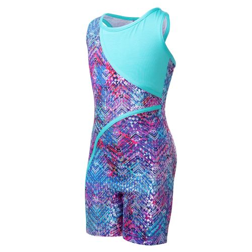 Capezio Girls' Future Star Diamond Flip Biketard