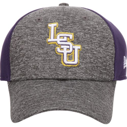 New Era Men's Louisiana State University Shadow Blocker 39THIRTY Cap
