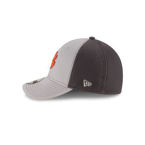 New Era Men's Clemson University Grayed Out Neo 39THIRTY Cap - view number 4