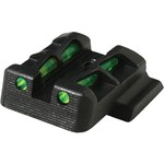 HIVIZ Shooting Systems Litewave GLOCK 9mm/.40 S&W/.357 SIG Pistol Rear Sight - view number 1