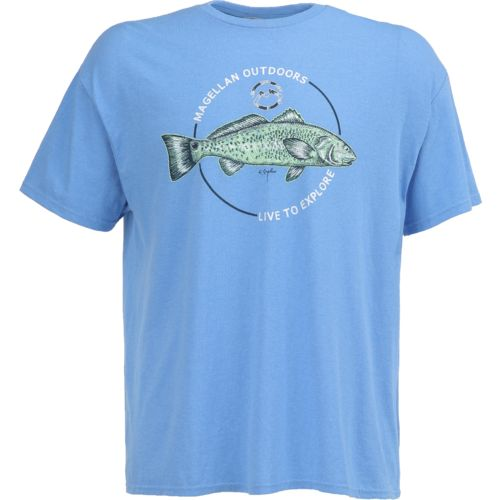 Display product reviews for Magellan Outdoors Men's Sketched Redfish T-shirt