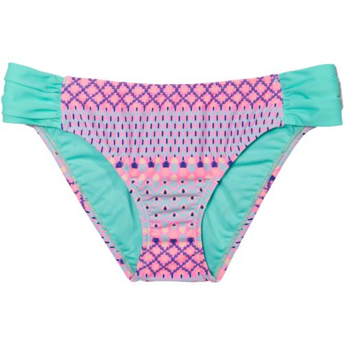 Island Soul Juniors' Coachella Drop Tab Side Pant Swim Bottom