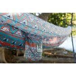 Twisted Root Design Teal Tribal Hammock - view number 4
