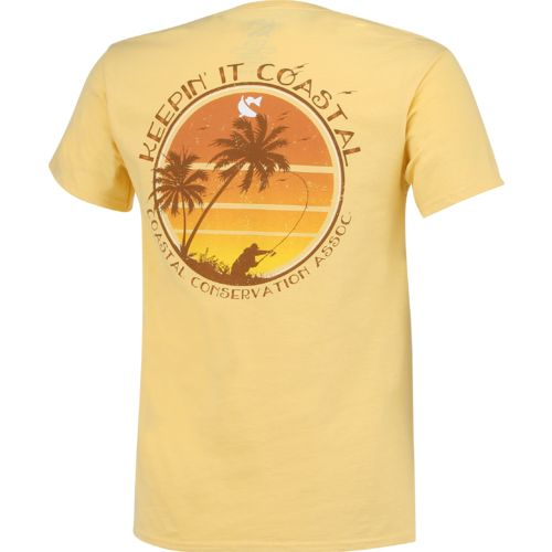 CCA Men's Keepin' It Coastal Sunset T-shirt - view number 2