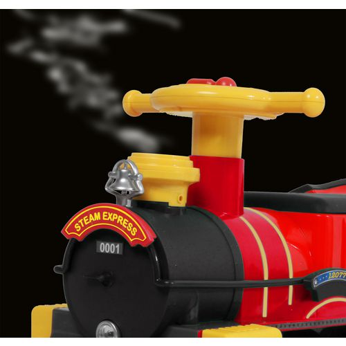 RollPlay 6V Kids' Ride Along Motorized Steam Train Ride-On - view number 5
