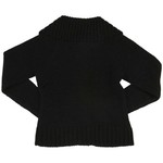 French Toast Girls' Pom-Pom Zip-Up Sweater - view number 2