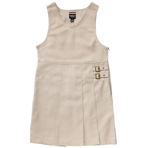French Toast Girls' Twin Buckle Tab Jumper