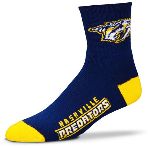 For Bare Feet Men's Nashville Predators Quarter Socks