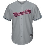 Majestic Men's Kansas City Royals Lorenzo Cain Stars and Stripes Cool Base Jersey - view number 2