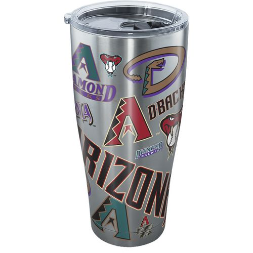 Tervis Arizona Diamondbacks All Over 30 oz Stainless-Steel Tumbler