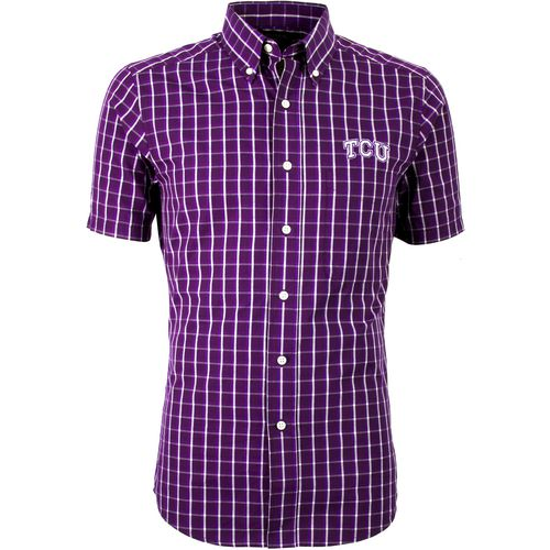 Antigua Men's Texas Christian University Endorse Dress Shirt