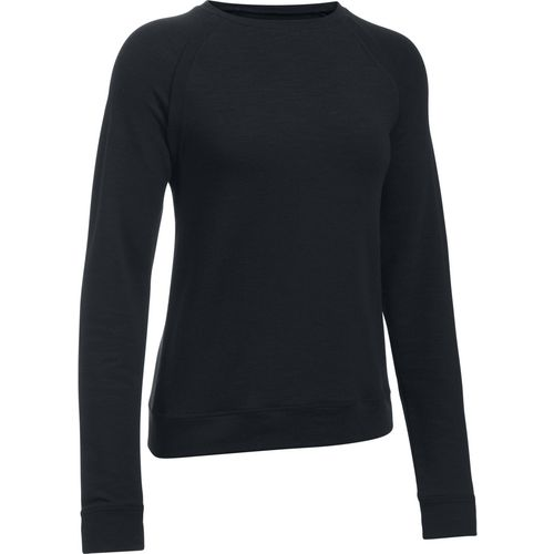 Under Armour Women's Plush Terry Crew Sweatshirt