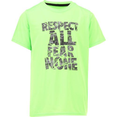 BCG Boys' Respect All Short Sleeve T-shirt