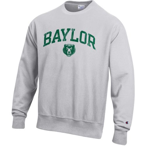 Champion Men's Baylor University Reverse Weave Crew Sweatshirt