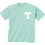 New World Graphics Women's University of Tennessee Comfort Color Circle Flowers T-shirt - view number 2