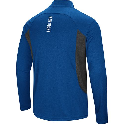 Colosseum Athletics Men's University of Kentucky Audible 1/4 Zip Windshirt