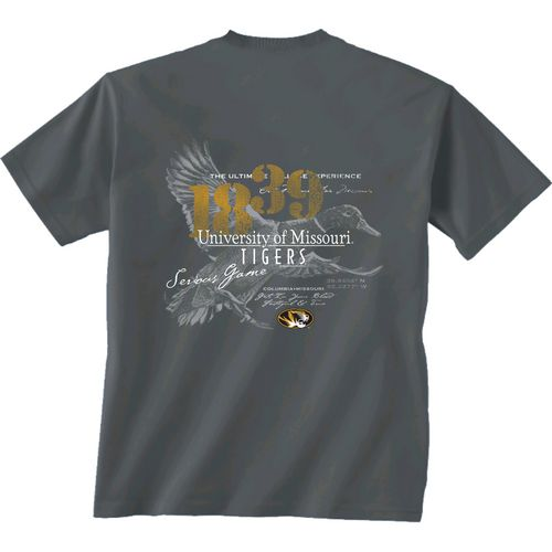 New World Graphics Men's University of Missouri In Flight T-shirt