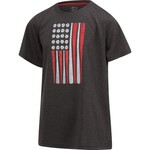 BCG Boys' USA Flag Short Sleeve T-shirt - view number 3