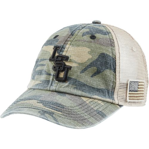 Top of the World Men's Louisiana State University Declare 2-Tone Adjustable Cap - view number 2
