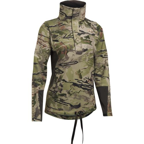 Under Armour Women's Stealth Early Season Camo Zippered Pullover