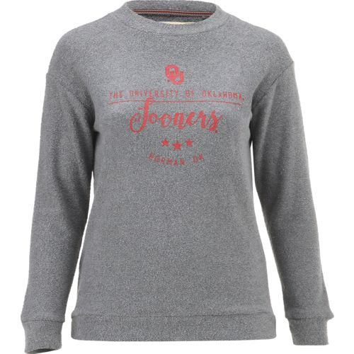 Three Squared Juniors' University of Oklahoma Finley Comfy Terry Pullover