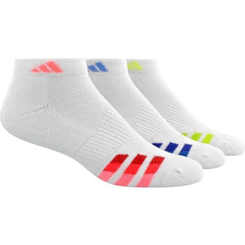 Display product reviews for adidas Women's Cushioned Variegated Low-Cut Socks 3 Pack