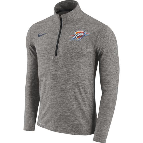 Nike Men's Oklahoma City Thunder Element Dry 1/2 Zip Pullover
