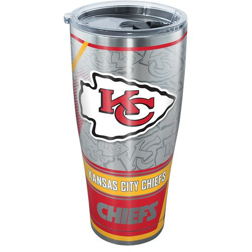 Tervis Kansas City Chiefs 30 oz SIC All Over Stainless-Steel Tumbler