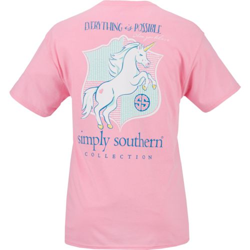 Simply Southern Women's Unicorn T-shirt
