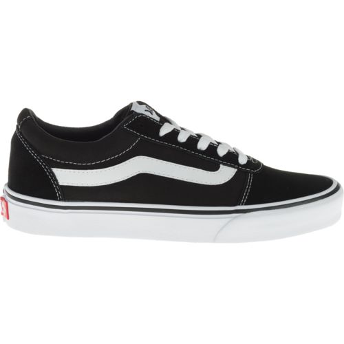womens black vans shoes