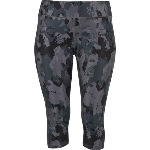 BCG Women's Athletic Printed Plus Size Capri Pants