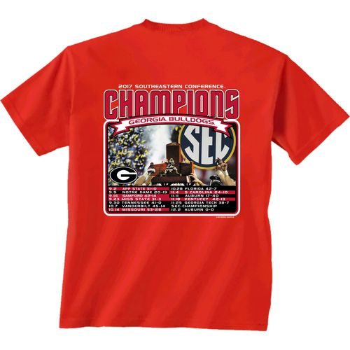 New World Graphics Men's University of Georgia SEC Champ Recap T-Shirt