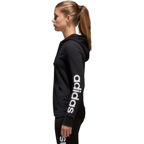 adidas Women's Essentials Linear Full Zip Hoodie - view number 5
