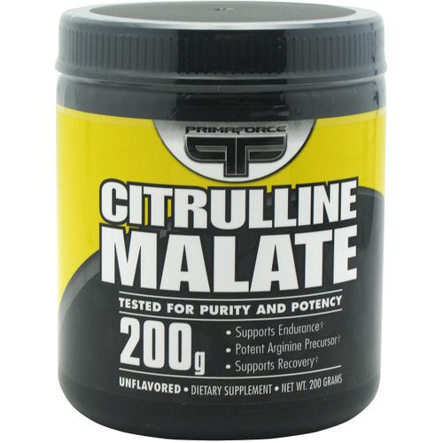 PrimaForce Citrulline Malate 200 g Dietary Supplement
